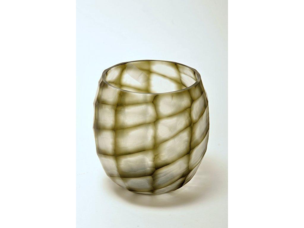 Skleněná váza žíhaná