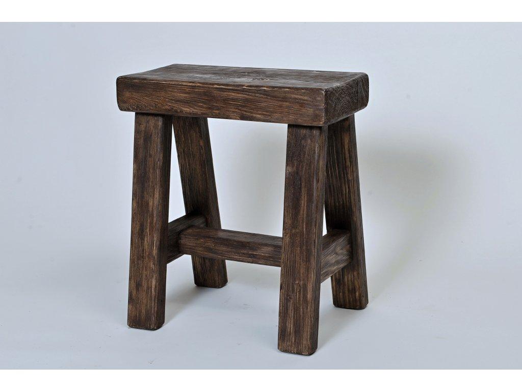 Dřevěné sedlo smrk