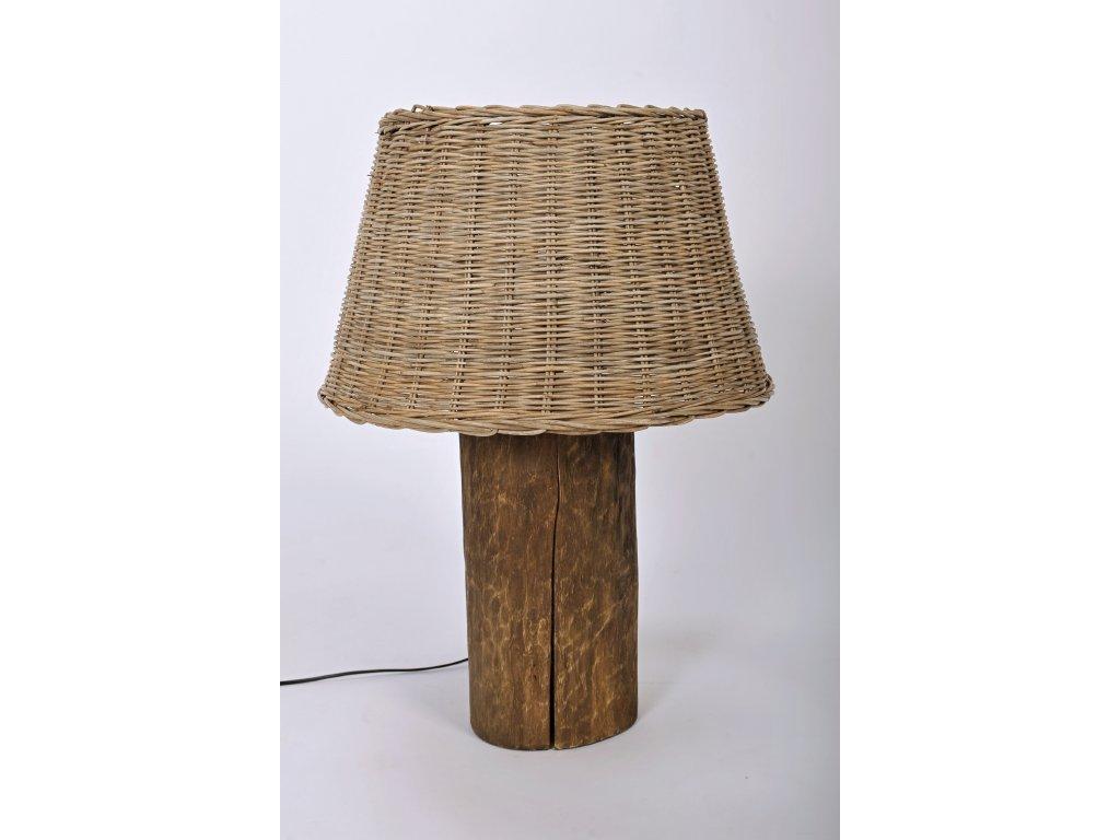 Dřevěná lampa ŠPALEK