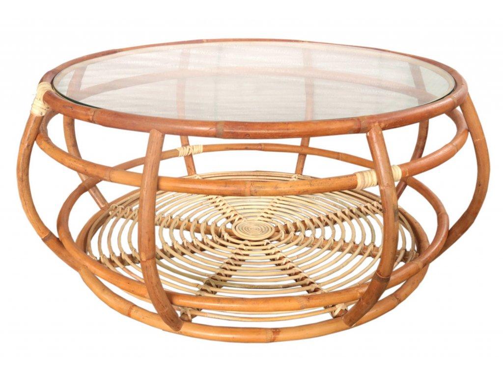 Ratanový kulatý stůl HITRA