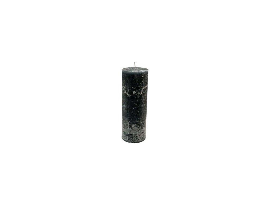 Svíčka FROZEN černá