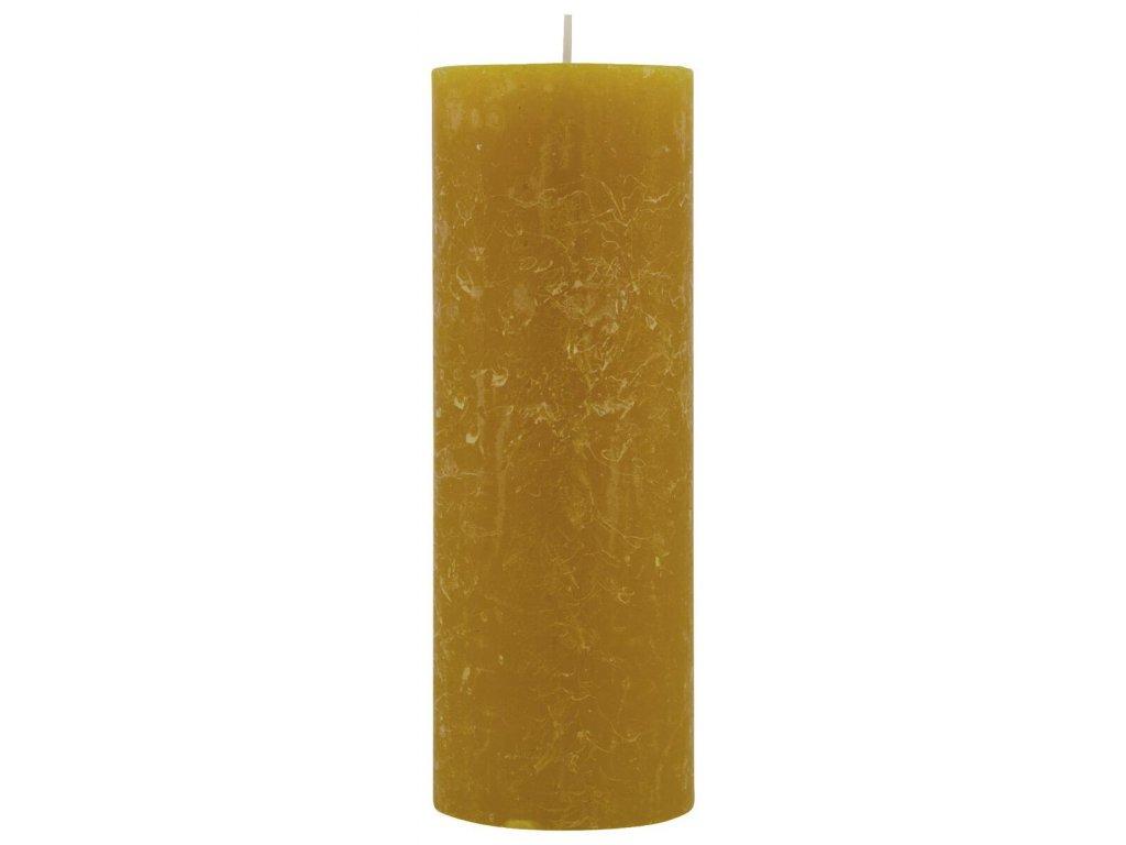 Svíčka FROZEN žlutá velká