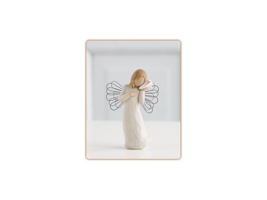 Anděl MYSLÍM NA TEBE