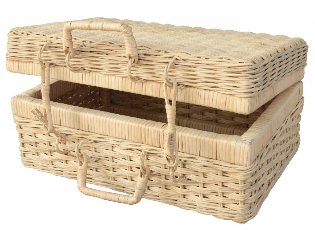 Ratanový kufr MELAYA