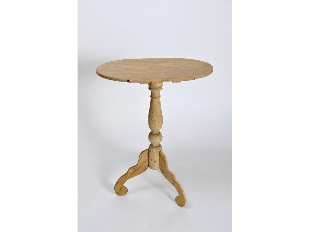 Teakový oválný stůl