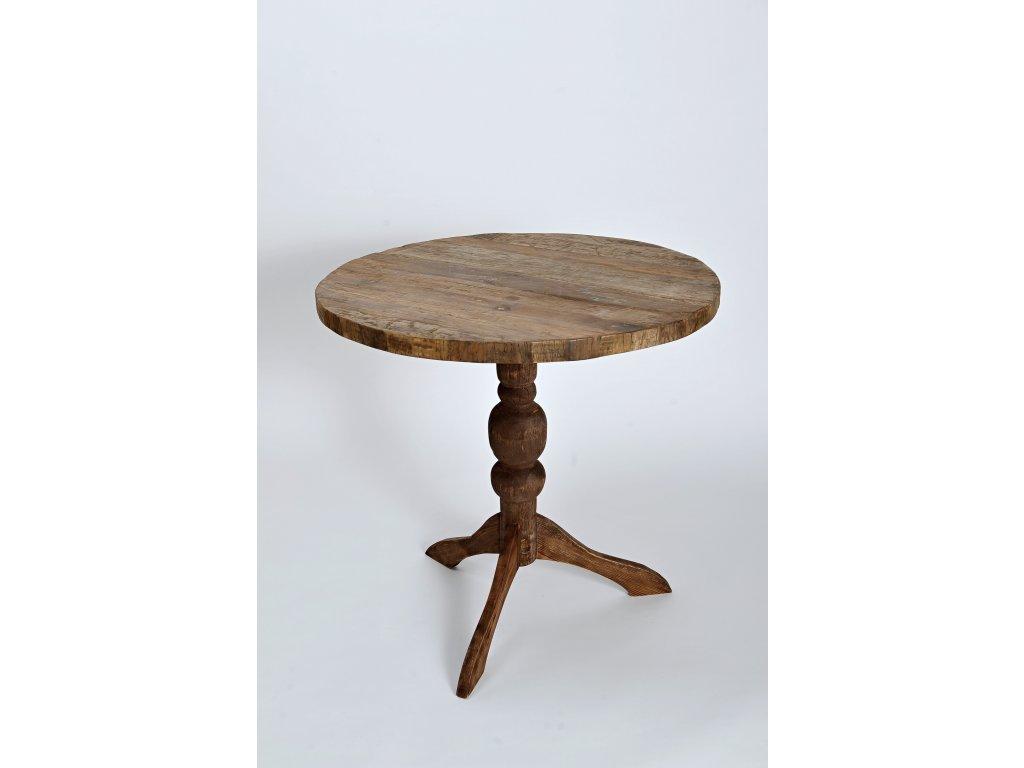 Masivní dřevěný stůl z jilmu