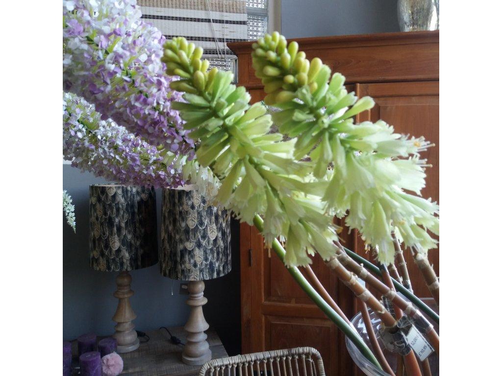 Květina/dekorace květina kniphofia
