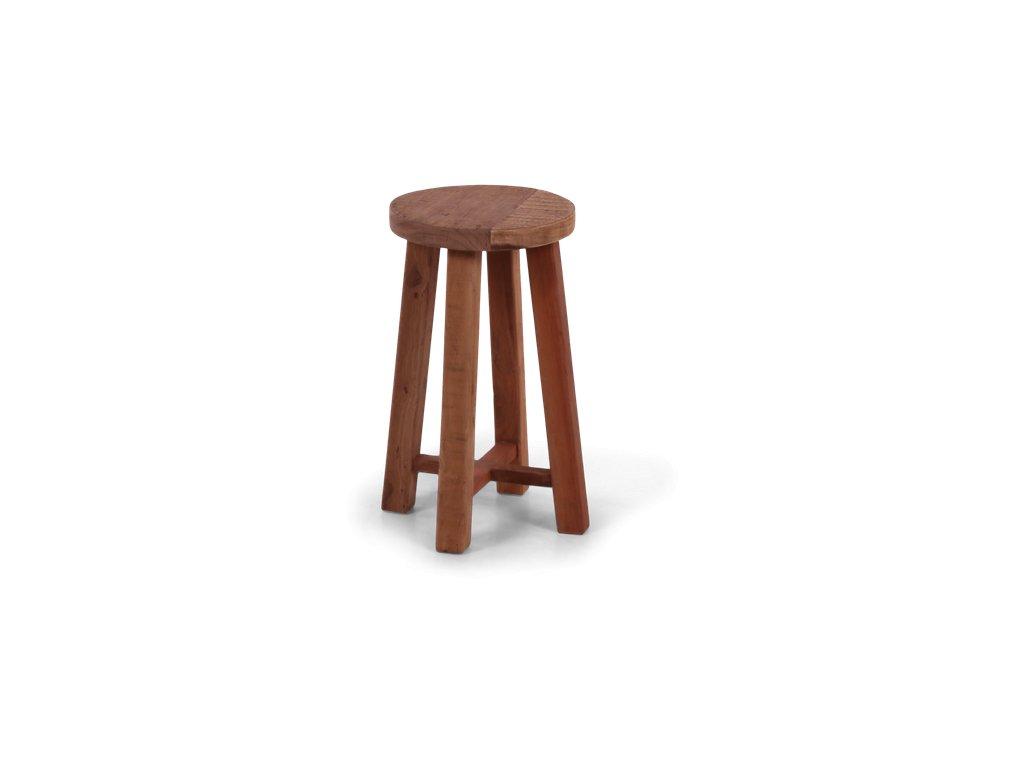 dřevěná stolička PRIMITIV malá (1)