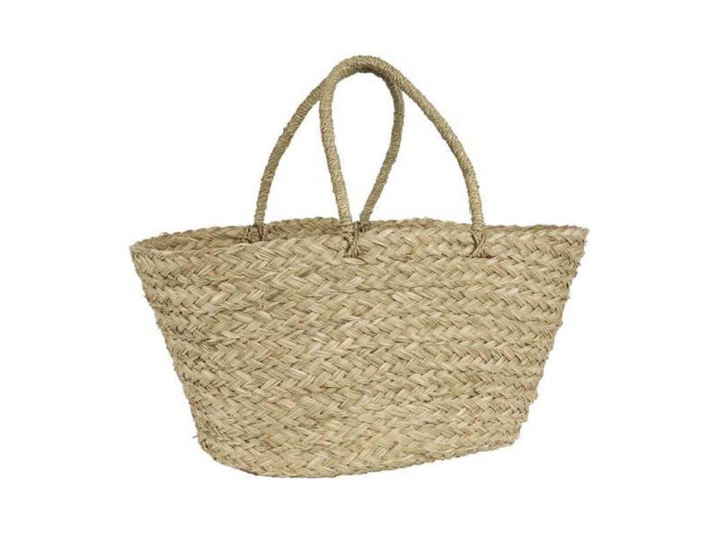 Letní taška z mořské trávy
