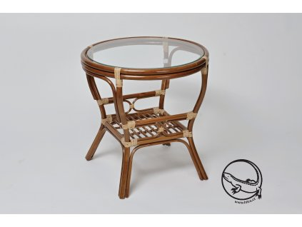 Ratanový stůl PELANGI kulatý bez v DH