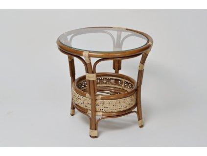 Ratanový stůl PETANI dh