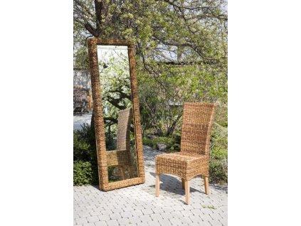 Zrcadlo180x60cm BANÁN - hluboký rám
