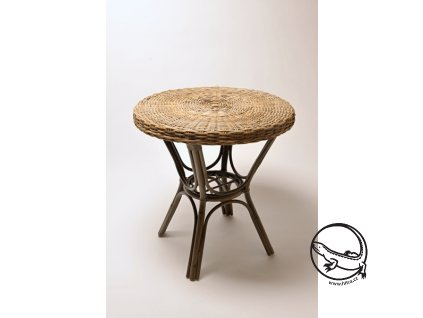 DESKA  stolová -výplet EXOTICA 70 grey