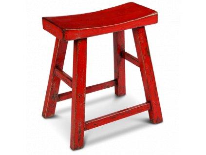 stolička sedlo červená (2)