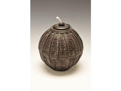 Olejová lampa černá - malá