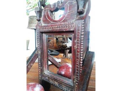 Dřevěné stojanové zrcadlo AULA