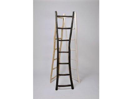 Dřevěný žebřík PRIMITIV bílý wash