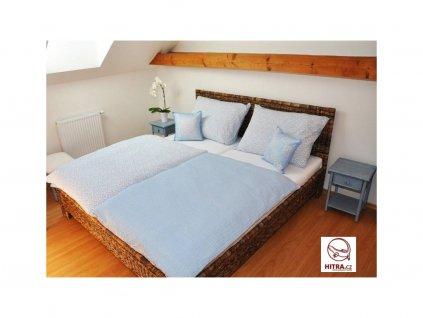 Manželská ratanová postel 180x200cm kubu grey NEW