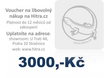 Dárková poukázka 3000, Kč