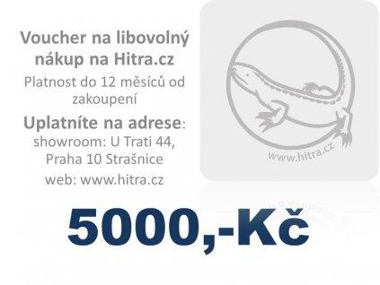 Dárková poukázka 5000,-Kč