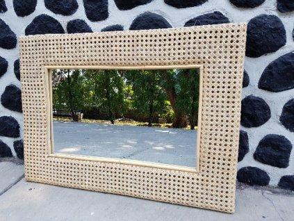 Ratanové zrcadlo LASIO obdélník