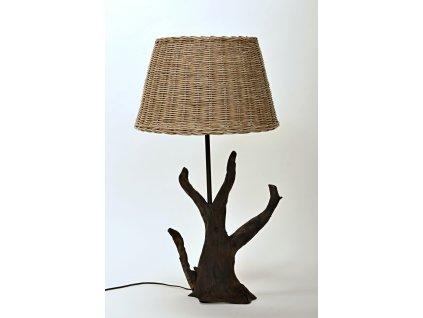Dřevěná lampa SISI
