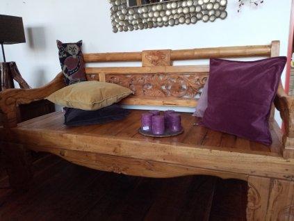 Teakové sofa antik Banku Bulung