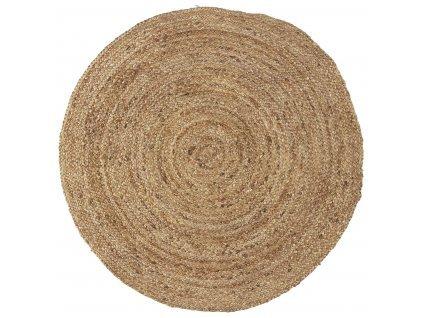 2722 kruhovy koberec z juty