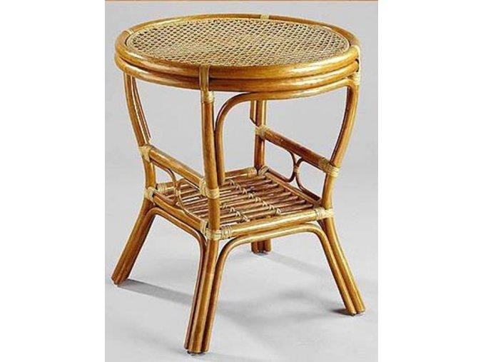Ratanový stůl PELANGI kulatý ( výplet ) DH
