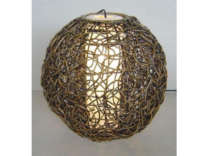 Stínidlo - dekorace KOULE 35 cm LH WASH