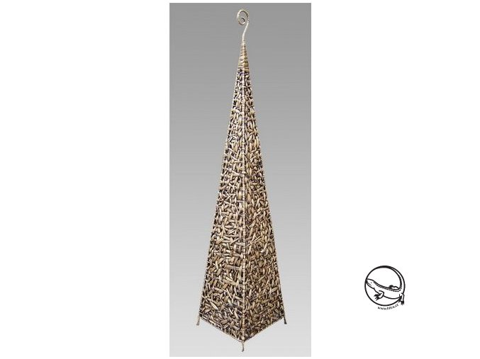 Stínidlo VELKÉ - dekorace pyramida/hyac.wash