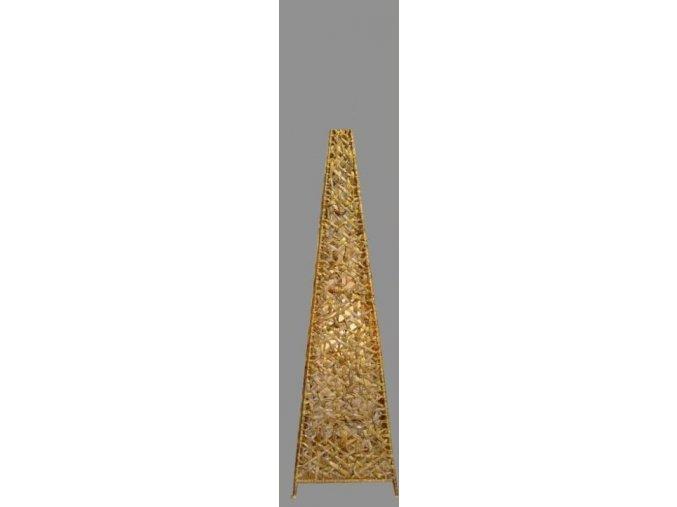 Stínidlo VELKÉ - dekorace jehlan hyac.nat.