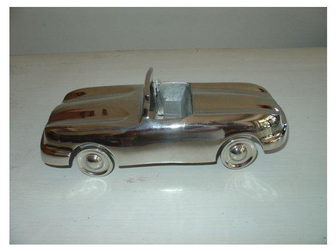 Dekorace auto stříbrné VILLA