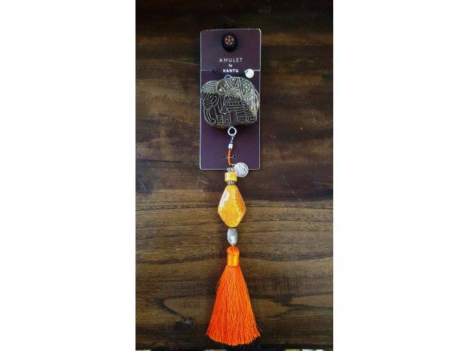 Bytový difuzér GANESHA - oranžová (štěstí, kreativita)