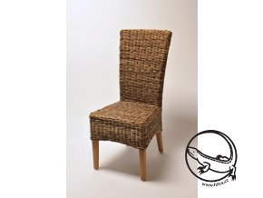 Ratanová židle LASIO vysoká banán unf nohy