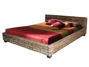 Manželská ratanová postel DIMA 180 sarang