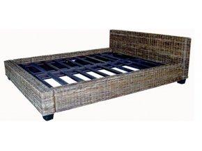 Manželská ratanová postel DIMA 160 sarang