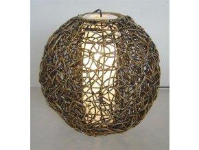 Stínidlo - dekorace KOULE 40 cm WASH
