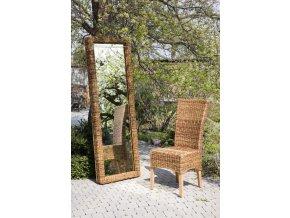 Zrcadlo180x60 BANÁN - hluboký rám