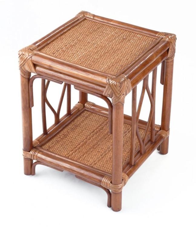 Ratanový stůl BRUMBUNG dh