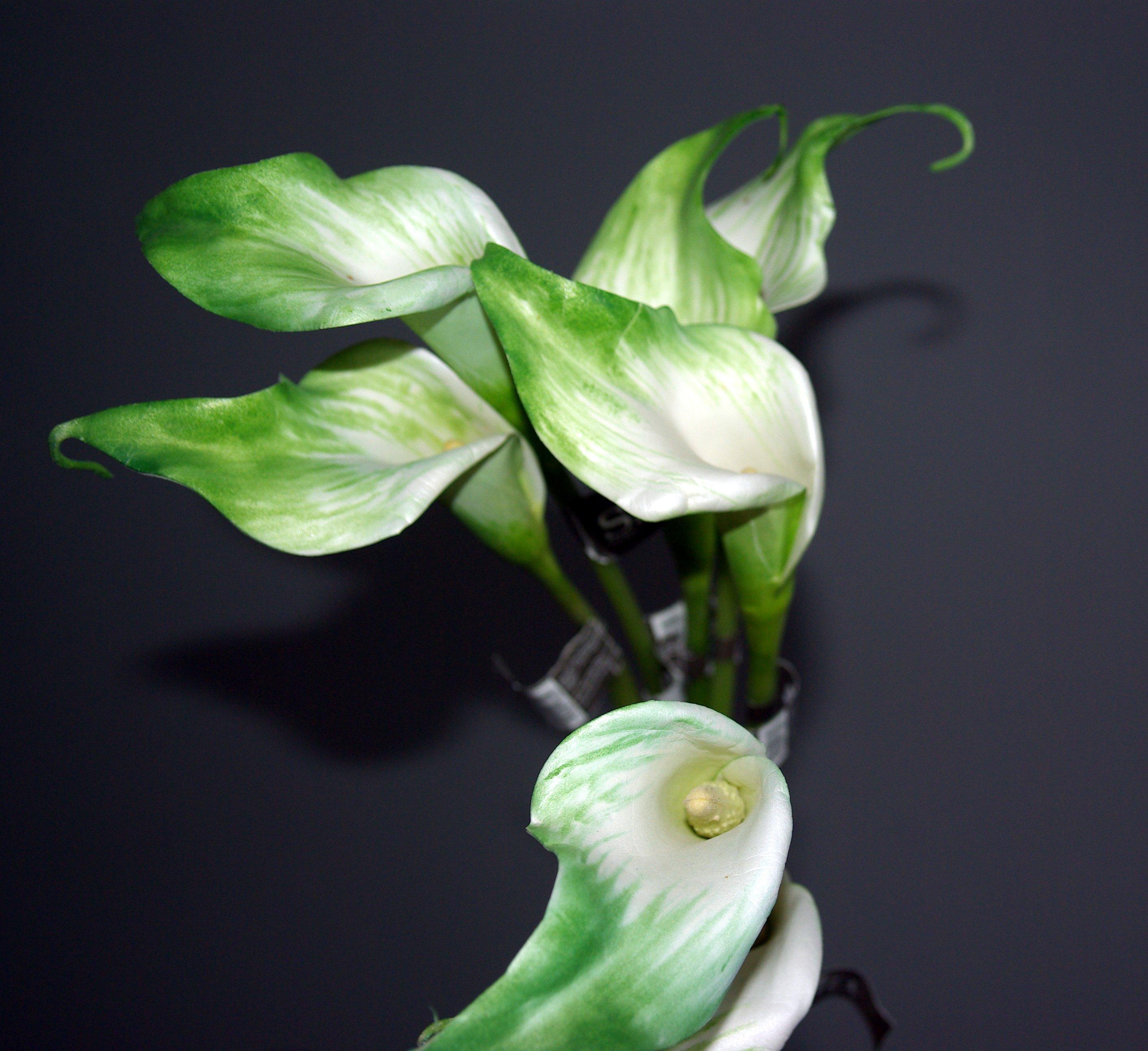 Květina/dekorace kala lily 52 cm