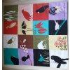 Povlak 45x45cm - motiv ptáci NEW čtverce
