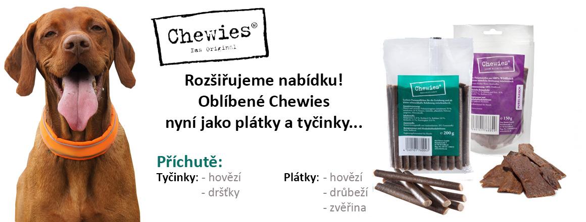 Chewies také jako plátky a tyčinky!