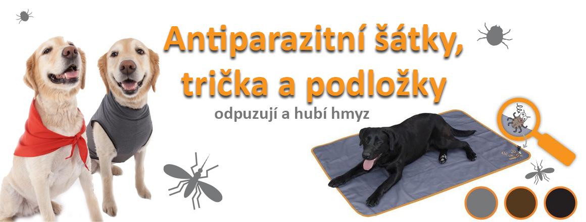 Antiparazitní doplňky, které odpuzují a zabíjí hmyz