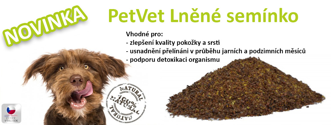 PetVet Lněné semínko