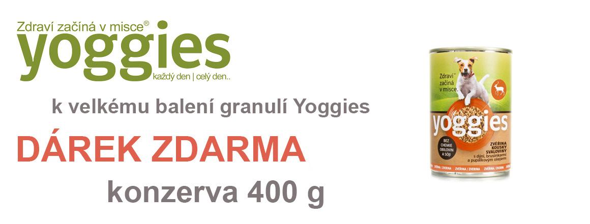 Konzerva Yoggies Zdarma