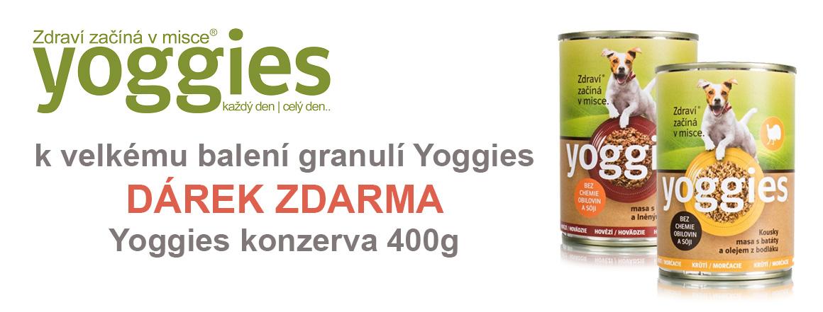 Konzerva Yoggies zdarma k velkému balení