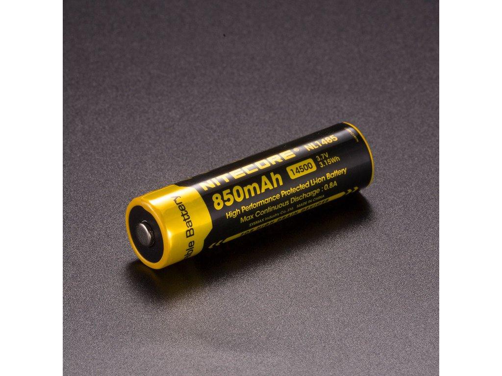 Nitecore 14500 Li-Ion Baterie 3,7V / 850mAh