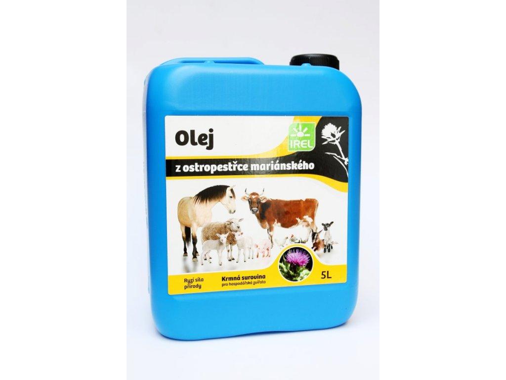IREL Horse - Ostropestřcový olej pro koně 5 l
