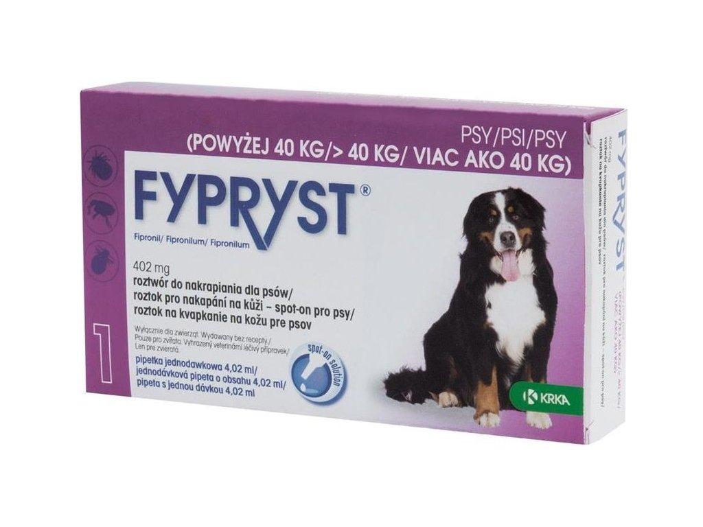 Fypryst spot on Dog XL nad 40kg 1x4,02ml